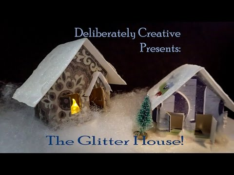 how-to-make-glitter-houses-or-putz-houses-#lovewinterart