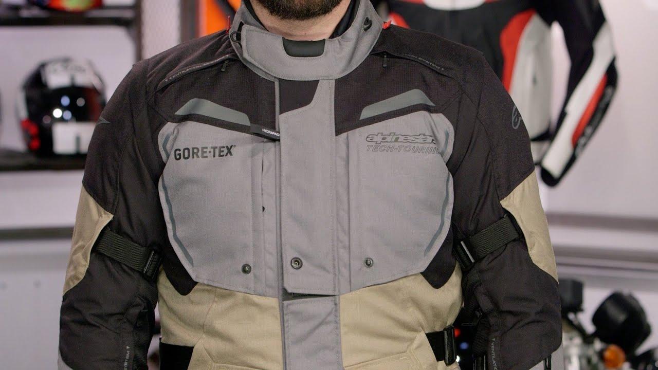 Alpinestars Motorcycle Jacket >> Alpinestars Durban Gore-Tex Jacket & Pants Review at ...