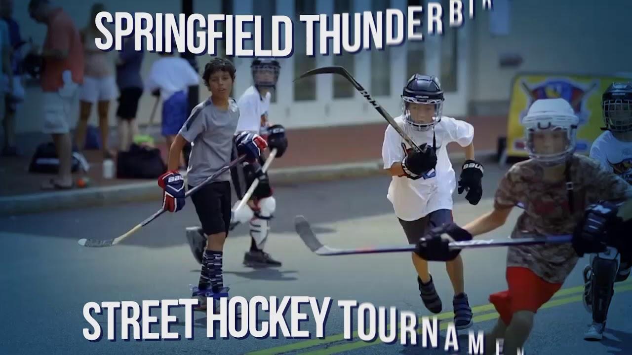 Street Hockey Tournament Springfield Thunderbirds