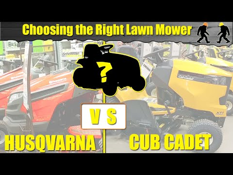 "Time to Buy - Husqvarna YTH18542 42"" or the Cub Cadet XT1 Enduro Series LT 42"" Riding Lawn Mower"