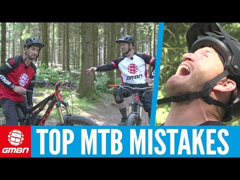 Top Mistakes Every Mountain Biker Will Make