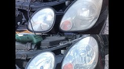 How to Restore Headlights Using T-Cut Headlight Restorer Kit & Removing Bumper Scuffs
