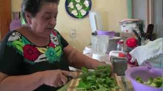 Pollo en Mole Verde - Al estilo de la abuela Oti
