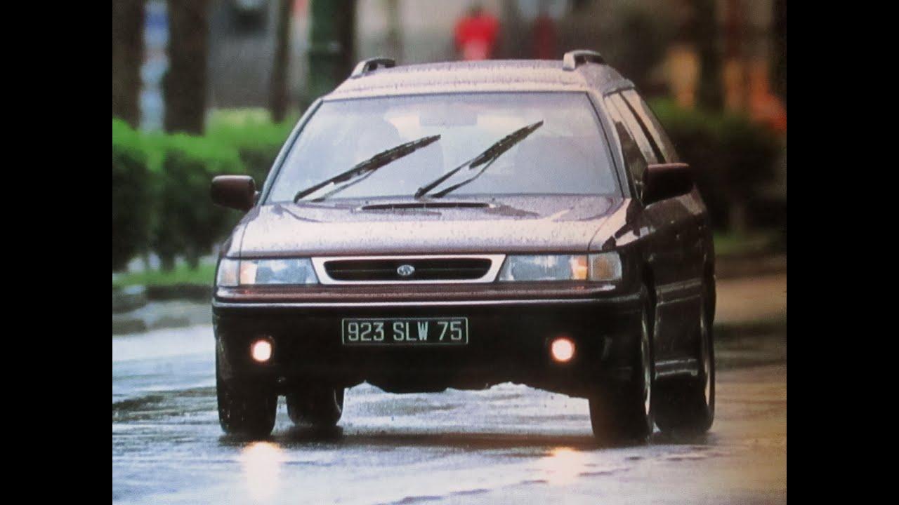 1992(平成4年)スバル レガシィ ツーリングワゴンbf5型 Subaru Legacy Touringwagon