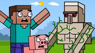 Village & Pillage! | Block Squad (Minecraft Animation)