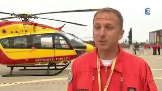 FRANCE 3 OCCITANIE - Nimes, les 60 ans du Groupement Hélicoptères Sécurité Civile