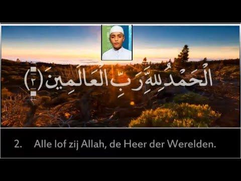 Ahmed saud: Soerat al Fatiha   Nederlands ondertiteld