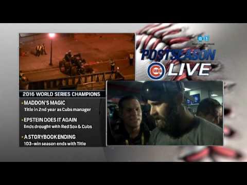 Arrieta: Winning World Series