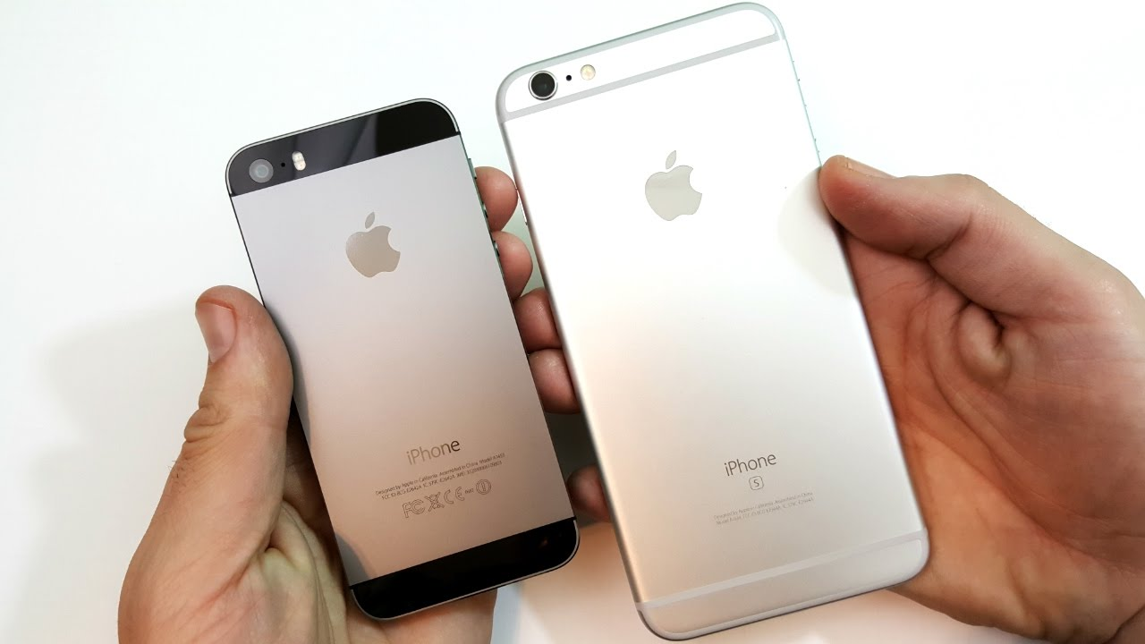 iphone 5s plus iphone 5s vs iphone 6s plus ios 10 2 11228
