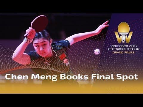 2017 Grand Finals | Chen Meng Books Final Spot