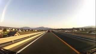 2012年3月末日、前橋渋川バイパスの片側二車線化が完成、スイスイ通れま...