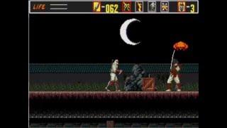 Revenge Of Shinobi Sega Genesis Glitches/Bugs/Cheats