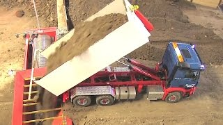 BIG RC Dump Truck: Load to huge for RC Trommel ?