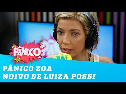 Bá! Tchê! Pânico zoa noivo gaúcho de Luiza Possi!