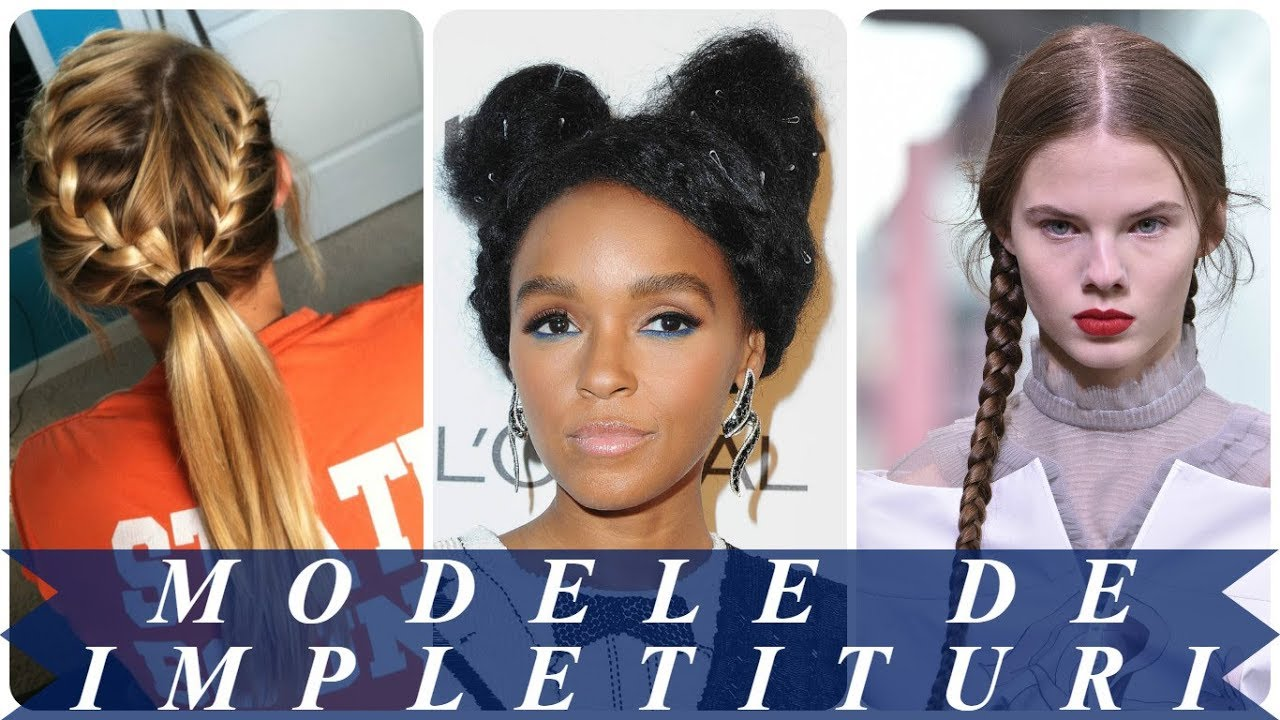 Modele De Coafuri Impletite 2018 Elegante