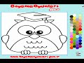 Owl Coloring Pages For Kids - Owl Coloring Pages