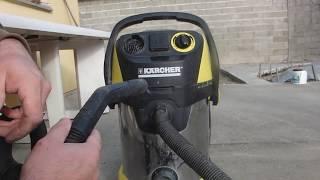 comment réparer un  aspirateur karcher eau,poussiére moteur défectueux