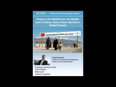 Fuat Keyman Turkey in the Middle East, the Middle East in Turkey