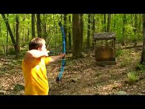 Learning Archery - How To Aim, Set, Release, Follow Through