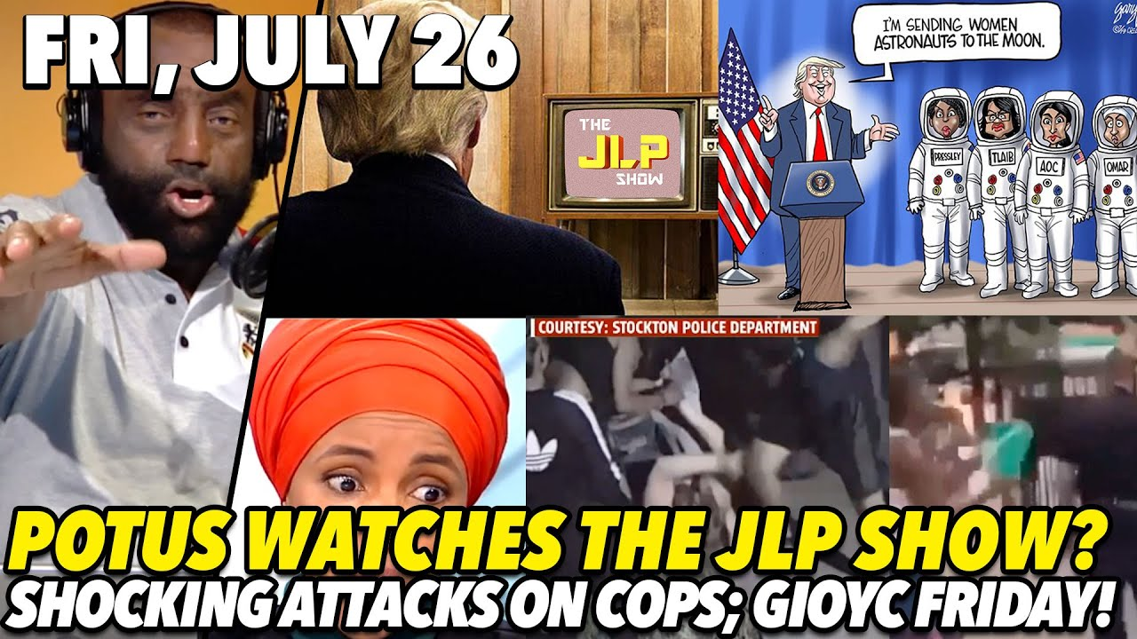 Jesse Lee Peterson Fri, July 26: POTUS Totally Watches JLP!; Truly Shocking Attacks Caught on Camera
