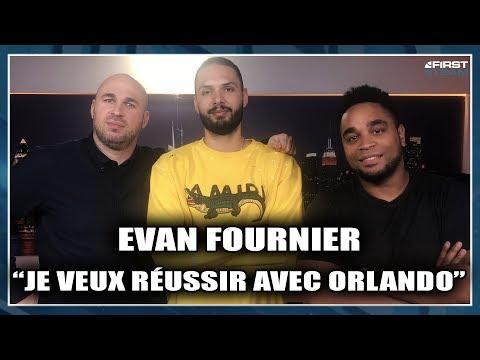"""EVAN FOURNIER : """"JE VEUX RÉUSSIR AVEC ORLANDO"""""""