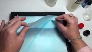 Applying Resin to your Coloured Pencil Drawings