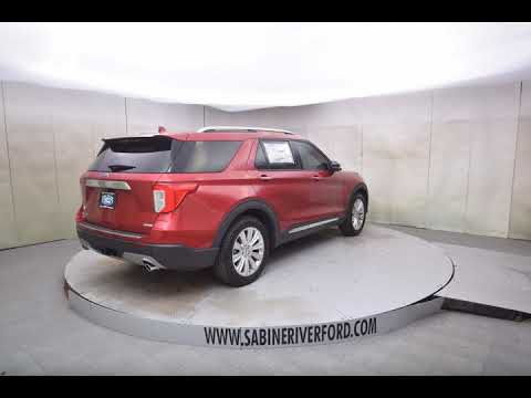 2020 Red Ford Explorer 4D Sport Utility #7704