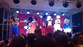 Show da Turma do Mickey no Festival Salvador Norte Shopping, Salvador, Bahia (26/03/2016)