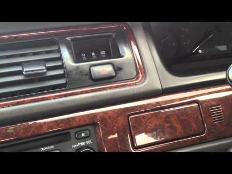 Обзор Toyota Cresta (X100) 2 из 3 (Салон)