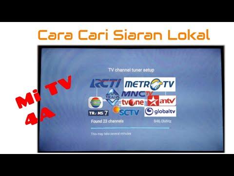 Cara Cari Siaran TV Lokal Di Mi TV 4A