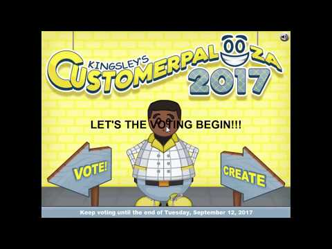 KINGSLEY CUSTOMERPALOOZA 2017 VOTING STARTED!!!