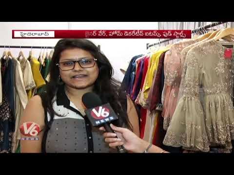 Hyderabad Taj Deccan Organised Fashion & Jewellery Expo | V6 News