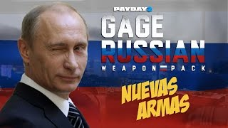 PAYDAY 2: Probando el Gage Russian Pack DLC Review [PC]
