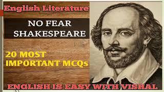 #17 Shakespeare Based MCQs, English Literature ques for DSSSB KVS NVS UP TGT PGT LT grade NET SET