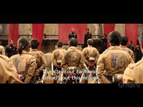 Shingeki no Kyojin (Live Action) - Trailer