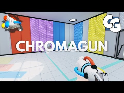 ChromaGun - Puzzle Spray Painting Goodness!