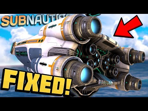 Subnautica - FIXING THE AURORA! Aurora Repair & Ship Explora