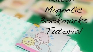 Back to School - DIY Magnetic Bookmark Tutorial