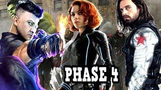 Avengers 4 Phase 4 Black Widow Official Plot & MAJOR PLOT Breakdown