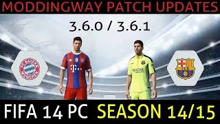 Fifa 14 moddingway update 11 0 and 11 0 2 videos / InfiniTube