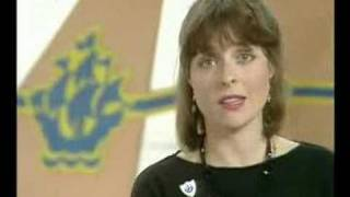 BBC Blue Peter garden vandalised with Janet Ellis 80s