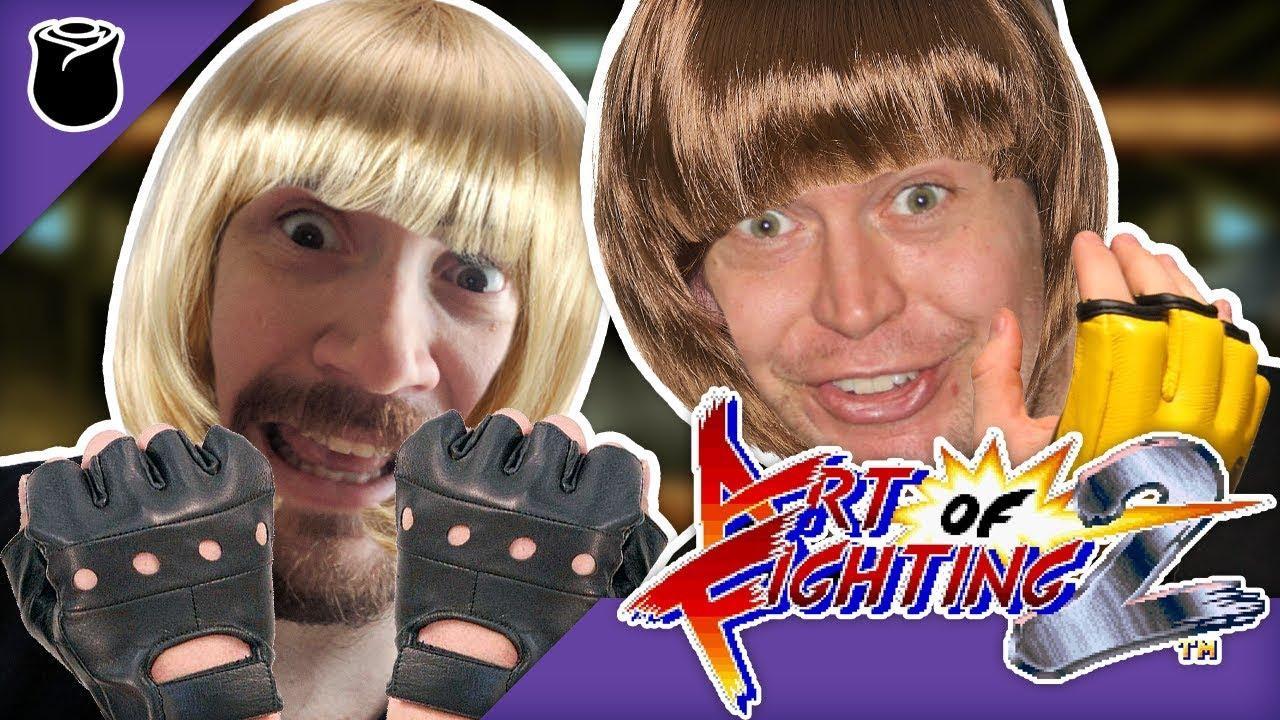 Art Of Fighting 2 Big Boy Sprites Youtube