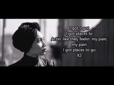 Yuna - Places To Go (Lyrics)