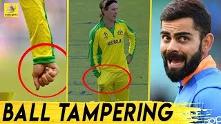 Did Adam Zampa tamper with ball against India?   World Cup 2019 Ind vs Aus Highlights   Latest News