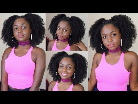 EASY CORN ROW BRAIDOUT FOR BIG HAIR ON 4C HAIR