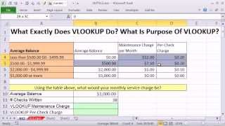 Excel Magic Trick 915: What Exactly Does VLOOKUP Do? What Is Purpose Of VLOOKUP? 9 Examples