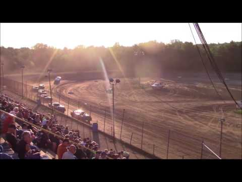 Butler Motor Speedway Street Stock Heat #1 7/29/17