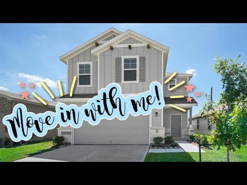 MOVE IN WITH ME! NEW BUILD//SPEED UNPACK WITH ME