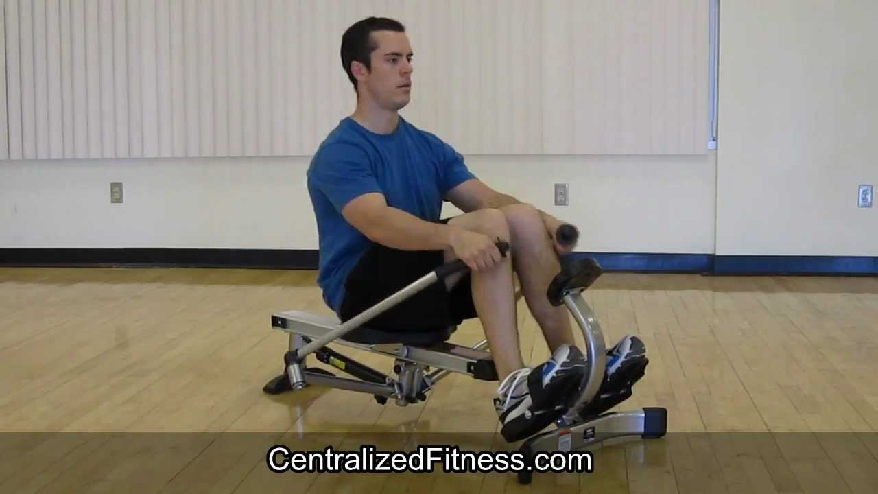 3647c6e434c Stamina Body Trac Glider 1050 Rowing Machine REAL Review - YouTube
