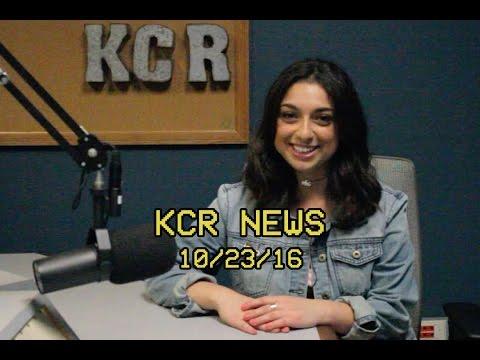 KCR College Radio News - 10/23/16